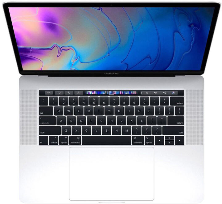 Apple MacBook Pro 15 Touch Bar, 2.3 GHz, 512 GB, Silver