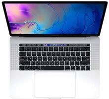 Apple MacBook Pro 15 Touch Bar, 2.3 GHz, 512 GB, Silver  + Servisní pohotovost – Vylepšený servis PC a NTB ZDARMA