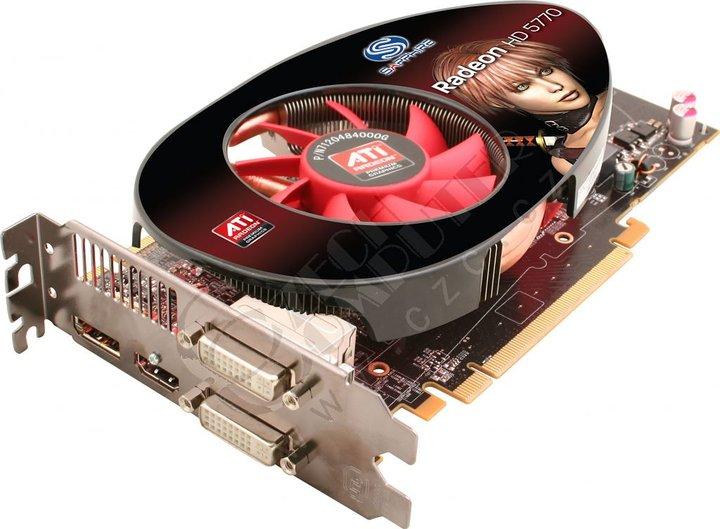 Sapphire HD 5770 (21163-10-20R) 1GB, PCI-E