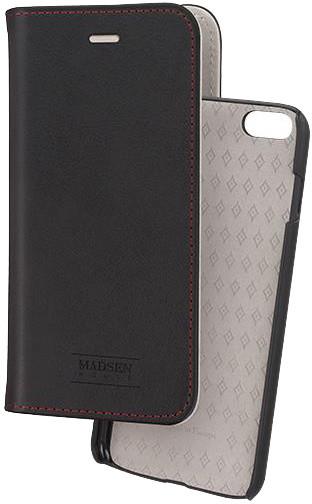 Madsen knížkové pouzdro 2 v 1 magnotické pro Apple iPhone 6/6s plus, černé