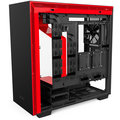 NZXT H700i, Matte Black/Red