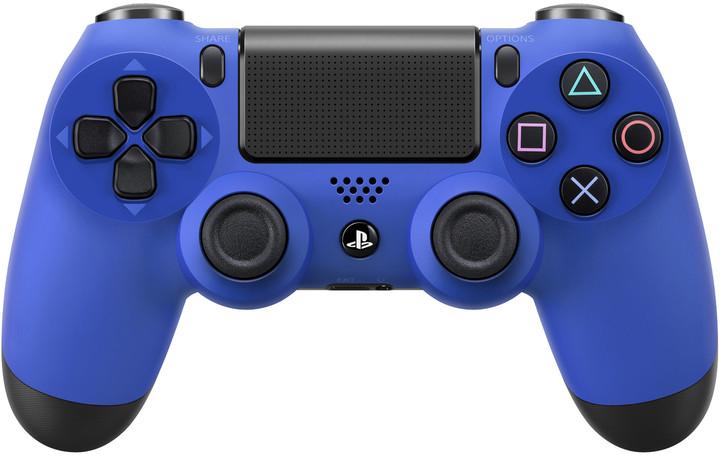 Sony PS4 DualShock 4, modrý