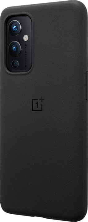 OnePlus ochranný kryt Sandstone pro OnePlus 9, černá