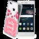 Cellularline STYLE průhledné gelové pouzdro pro Huawei P9 Lite, motiv BLOOM