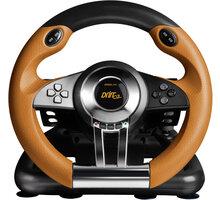 Speed Link Drift O.Z., černý/oranžový (PS3) - SL-4495-BKOR