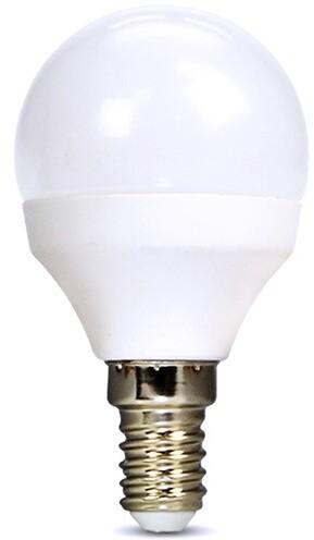 Solight žárovka, miniglobe, LED, 6W, E14, 3000K, 510lm, bílá