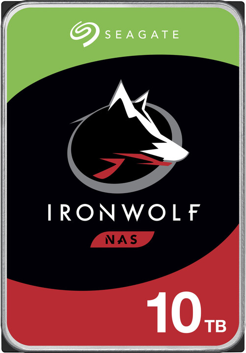 "Seagate IronWolf, 3,5"" - 10TB"