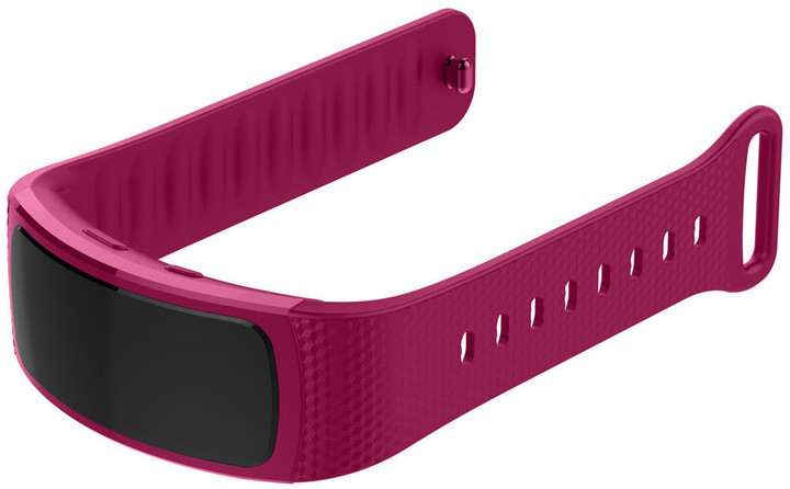 ESES silikonový řemínek ve velikosti S pro Samsung Gear Fit 2/ Gear Fit 2 Pro, fialová