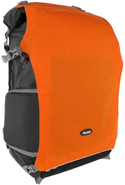 Rollei batoh na fototechniku Canyon XL 50 L Sunrise, šedá/oranžová