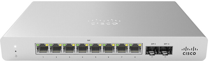 Cisco Meraki MS120-8 1G L2 Cloud Managed