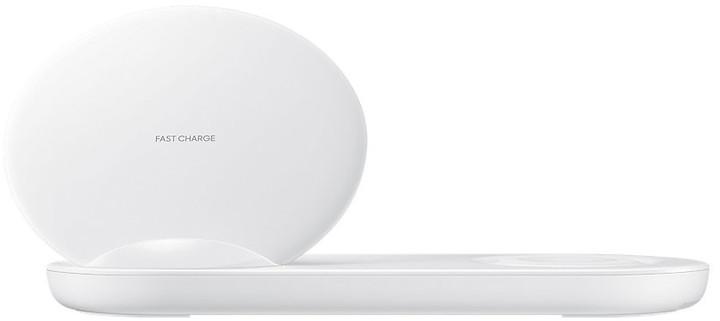Samsung bezdrátová nabíjecí duální stanice, bílá