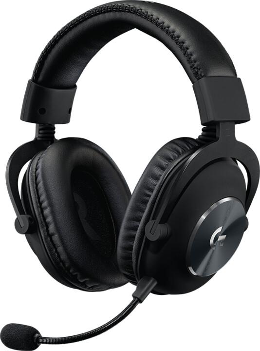 Logitech G Pro X, černá