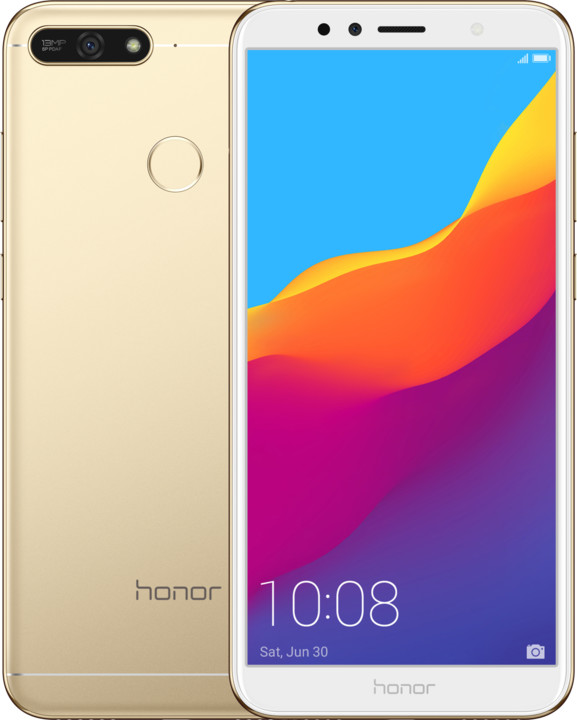 Honor 7A, 3GB/32GB, zlatý