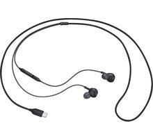 Samsung sluchátka s ovládáním hlasitosti EO-IC100BB, černá - EO-IC100BBEGEU