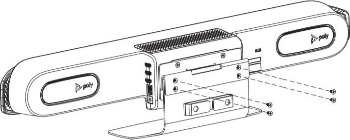 Poly podstavec na stůl pro Studio X30