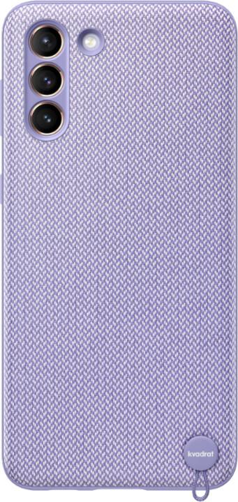 Samsung ekologický zadní kryt pro Samsung Galaxy S21+, recyklovaný materiál, fialová