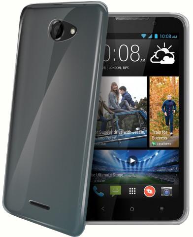 CELLY Gelskin pouzdro pro HTC Desire 516, bezbarvé