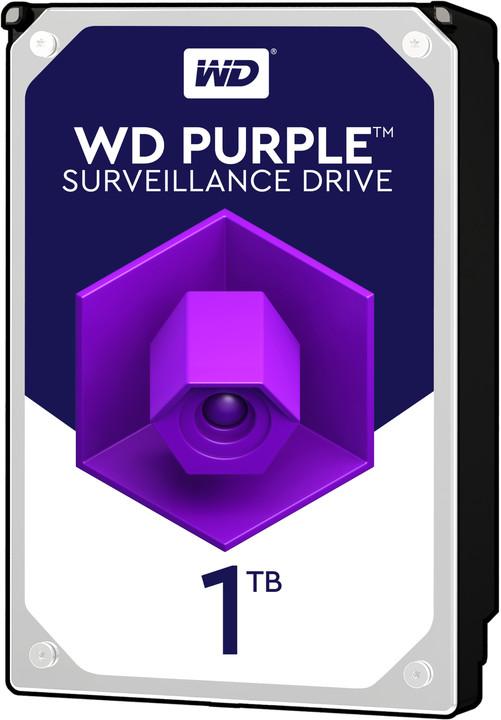 """WD Purple (PURZ), 3,5"""" - 1TB"""
