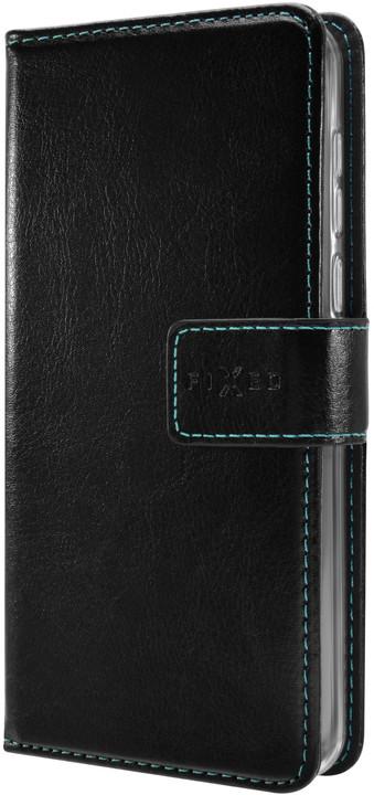 FIXED pouzdro typu kniha Opus pro Nokia 7.1 Plus, černá