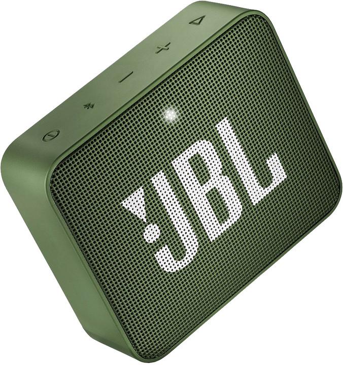 JBL GO2, zelená