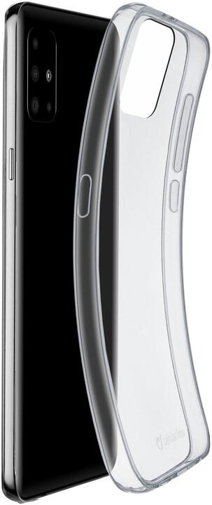 Cellularline extratenký zadní kryt Fine pro Samsung Galaxy A51, čirá