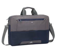 """RivaCase Suzuka 7757 taška na notebook 17,3"""", šedo/modrá - RC-7757-SBG"""
