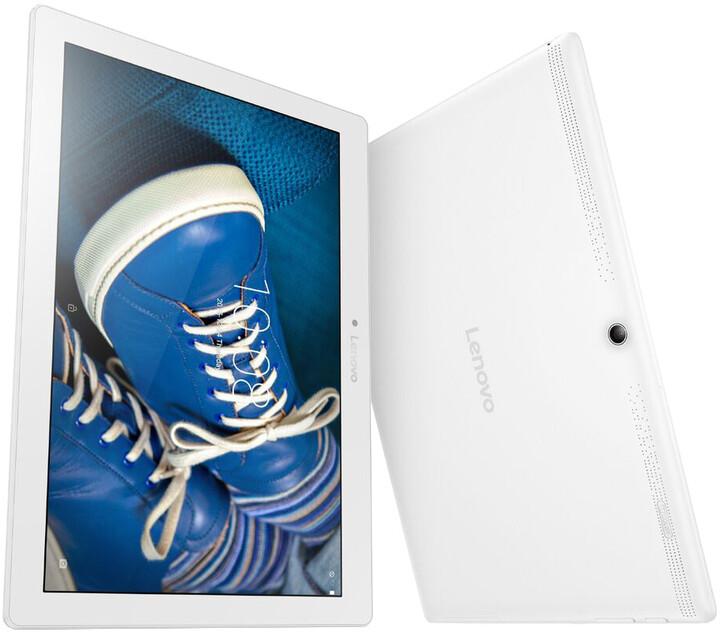 """Lenovo IdeaTab A10-30 10,1"""" - 16GB, LTE, bílá"""