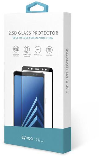 EPICO tvrzené sklo pro Samsung Galaxy S20 FE, 2.5D, černá
