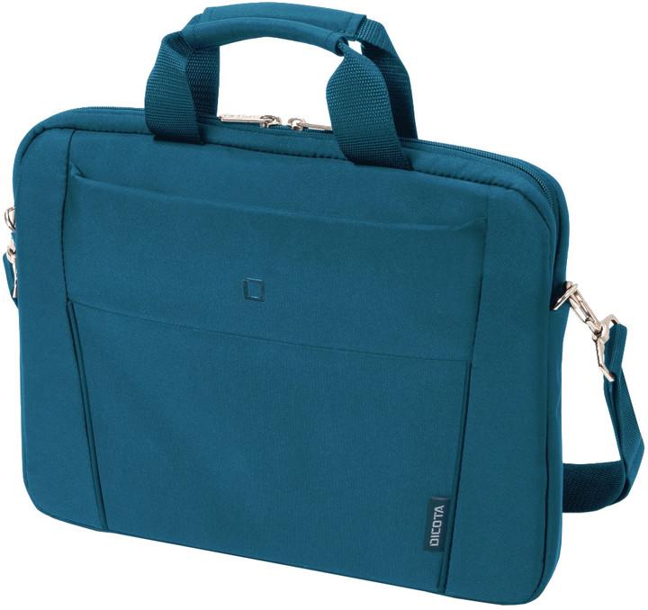 """DICOTA Slim Case BASE - Brašna na notebook 15.6"""" - modrá"""