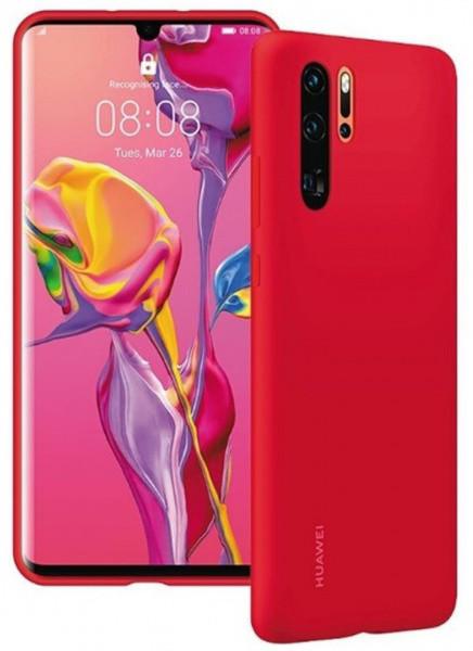 Huawei Original silikonové pouzdro pro P30 Pro, červená