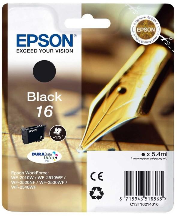 Epson C13T16214010, černá