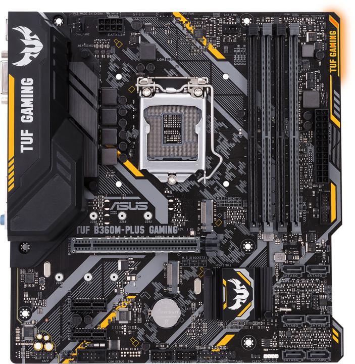 ASUS TUF B360-PLUS GAMING - Intel B360