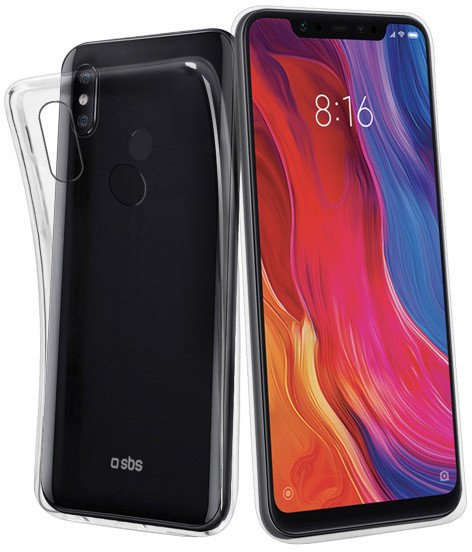 SBS Skinny pouzdro pro Xiaomi Mi 8, transparentní