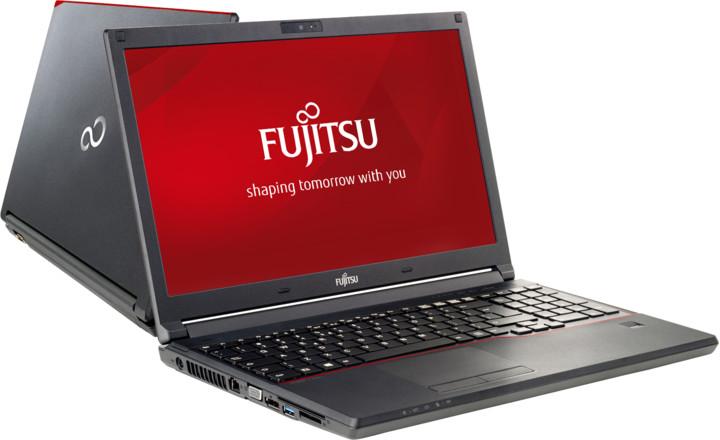 Fujitsu Lifebook E557, černá