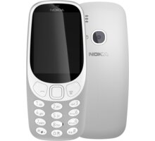 Nokia 3310, Single Sim, šedá