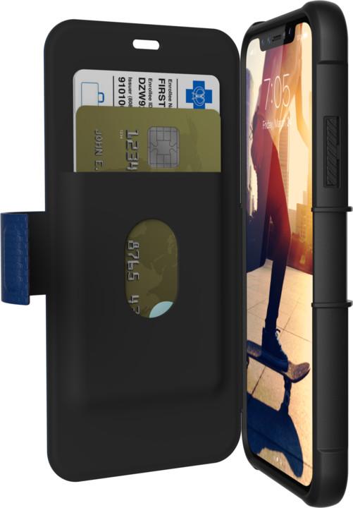 UAG Metropolis case Cobalt- iPhone X, blue