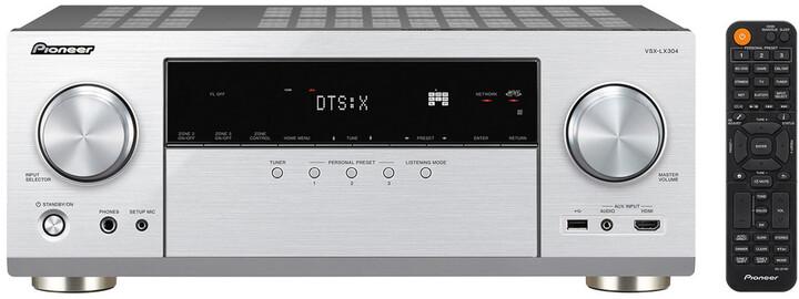 Pioneer VSX-LX304, stříbrná