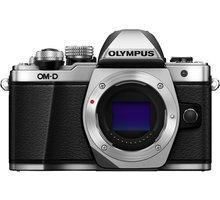Olympus E-M10 Mark II tělo, stříbrná - V207050SE000