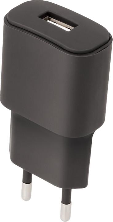 Forever cestovní dobíječ USB 3A TC-01, černá