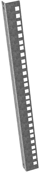 Solarix vnitřní lišta pro nástěnný rozvaděč 9U SENSA, 1ks