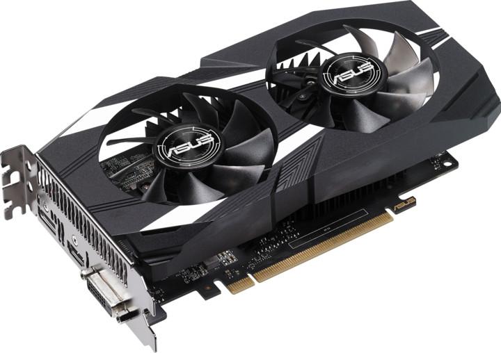 ASUS GeForce DUAL-GTX1050-2G-V2, 2GB GDDR5