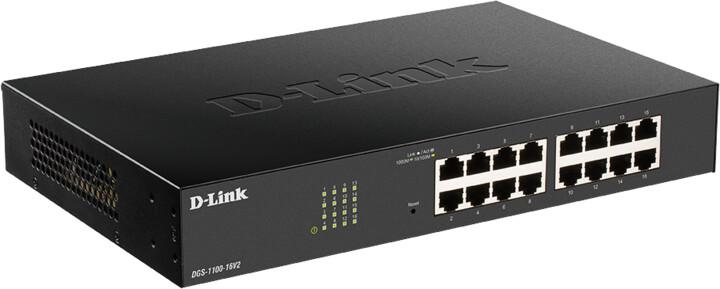 D-Link DGS-1100-16V2, NBD