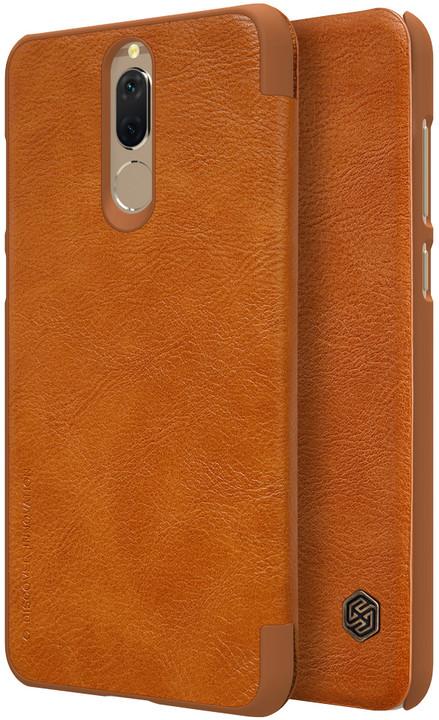 Nillkin Qin Folio pouzdro pro Huawei Mate 10 Lite, Brown