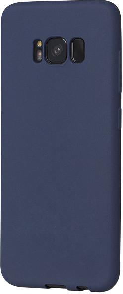 EPICO SILK MATT pružný plastový kryt pro Samsung Galaxy S8 - tmavě modrý