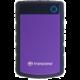 Transcend StoreJet 25H3P - 4TB, fialová