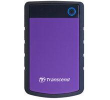 Transcend StoreJet 25H3P - 4TB, fialová - TS4TSJ25H3P