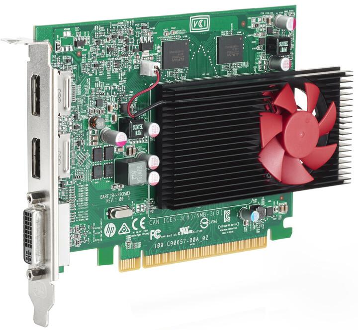 HP Radeon R9 350, 2GB GDDR5