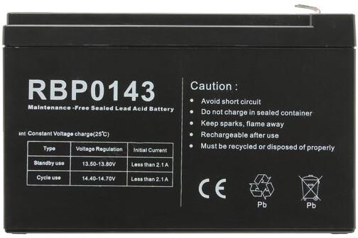 CyberPower náhradní baterie, 12V/7Ah