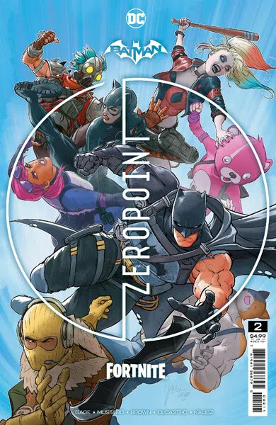 Komiks Batman/Fortnite: Bod nula, 2.díl
