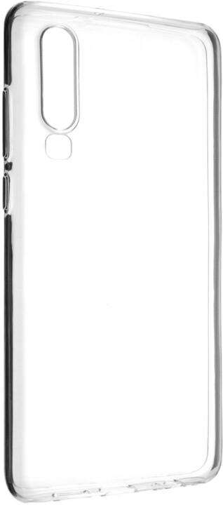 FIXED TPU gelové pouzdro pro Huawei P30, čiré